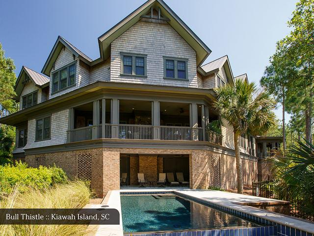 vacation rental home with pool