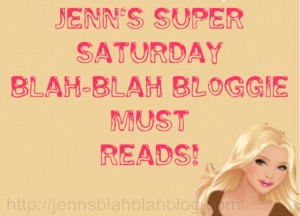 Saturday Blah Blah Bloggie Reads