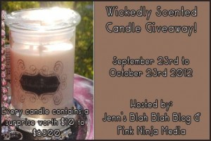 Wickedly Scented Candles #Giveaway | 10 Winners