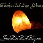 Don't Miss The Himalayan Salt Lamp #Giveaway