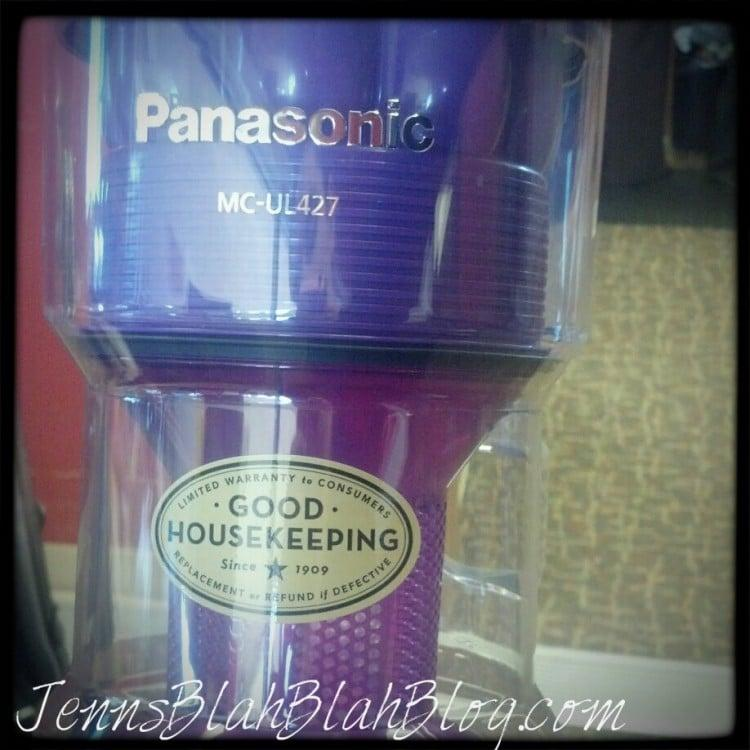 #Panasonic JetForce Vacuum MC-UL427 | Mommy Approved and Then Some