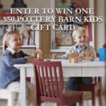 $50 Pottery Barn Kids Giveaway #Giveaway!