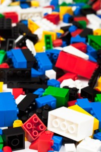 heap of assorted lego blocks