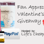 Diamond Candle, Paypal Cash, or an Amazon Gift Card #Giveaway Oh My!