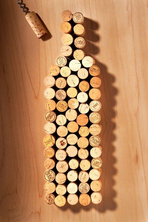 5 diy crafts to make from recycled wine corks