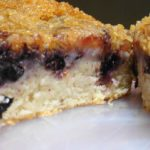 Blueberry Crumble Coffee Cake Recipe