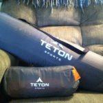 Teton Sports ComfortLite™ XL Self Inflating Camp Pad & ComfortLite™ Self Inflating Pillow Review