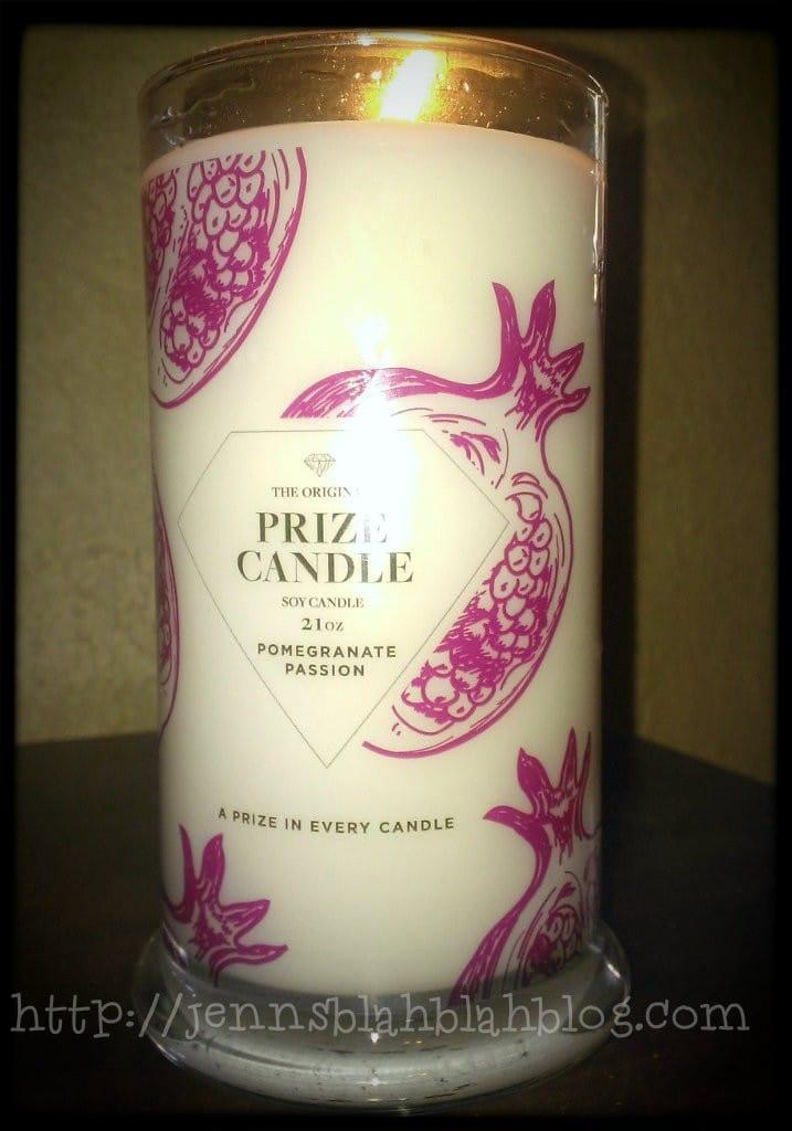 Prize Candle Review Prize Candle Review: OMG You Have To Come See What I Got In My Candle!