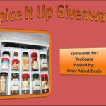 Spice It Up #Giveaway – It's Getting Hot Over Here!