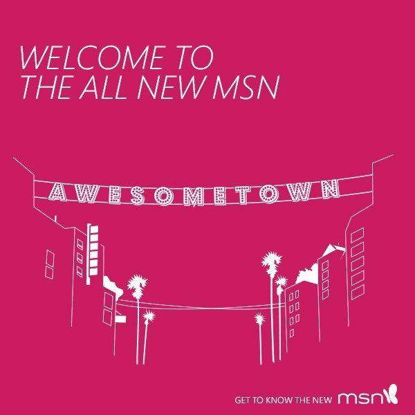 welcome to the new msn