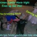 Family Movie Night Dogpile fun