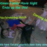 Spending Quality Time With The Family! Yepie, Family Movie Night Rocks! #sponsored