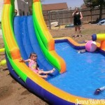Fun for the Whole Family! HydroRush Inflatable Waterpark Rocks