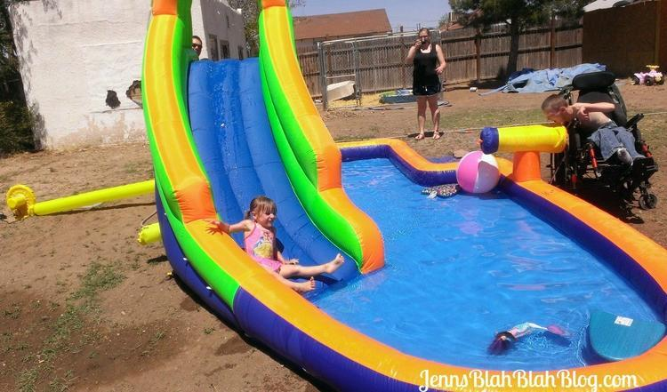HydroRush Waterpark  Fun for the Whole Family! HydroRush Inflatable Waterpark Rocks