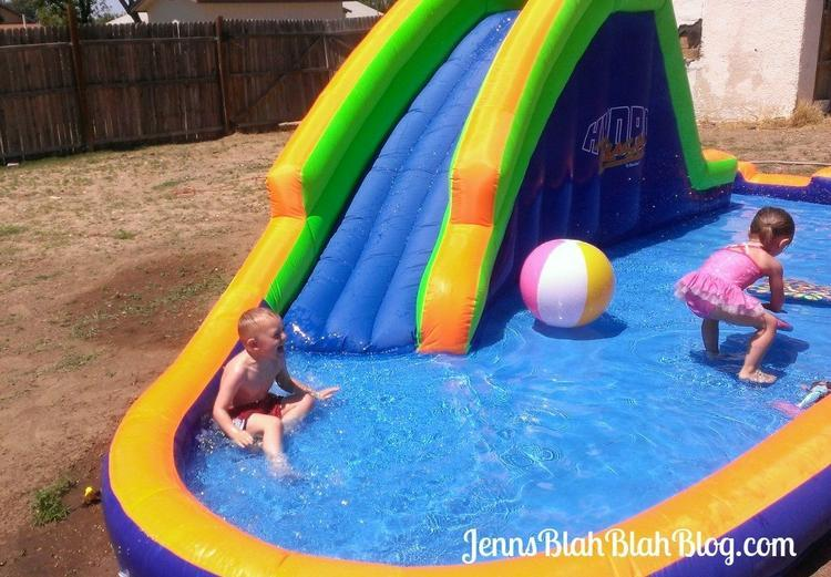 Summer Fun HydroRush Waterpark Fun for the Whole Family! HydroRush Inflatable Waterpark Rocks