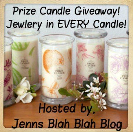 prize candle giveaway