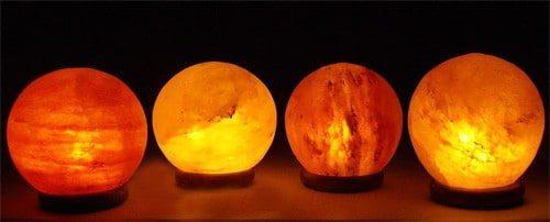 The Globe Salt Lamp