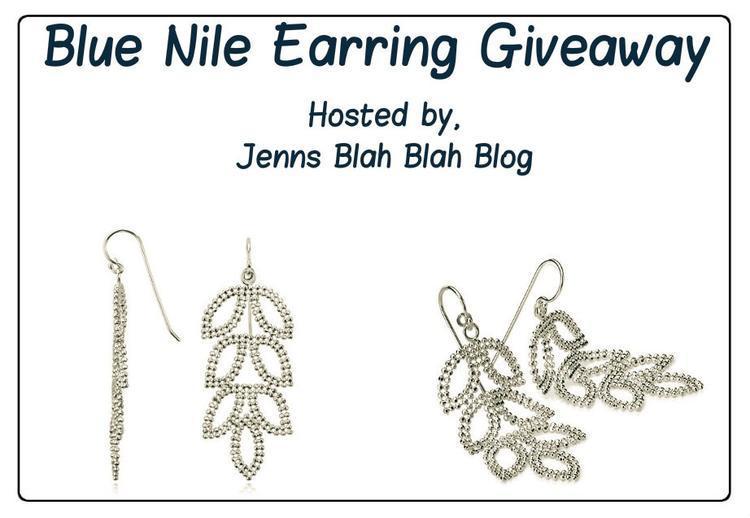 Enter to #Win Sterling Silver Leaf Earring #Giveaway #BlueNileEarrings