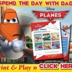 Father's Day Fun, with and E-Card & activities from #DinseyPlanes