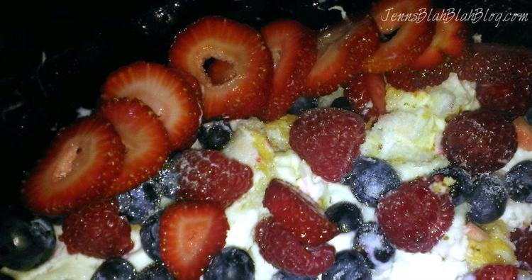 Red, White, and Blueberry Trifle! Amazing Fourth of July Dessert Idea!