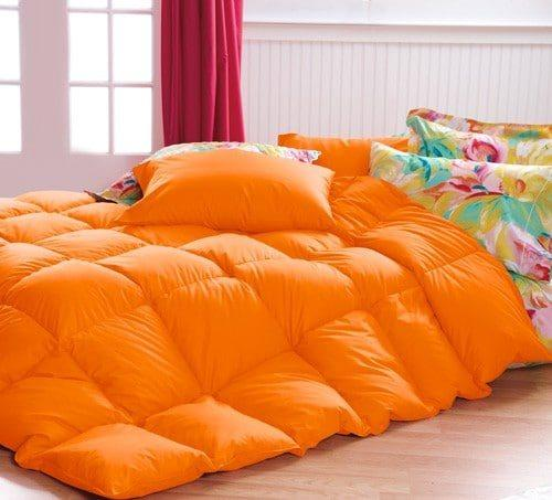 Orange Bedspread