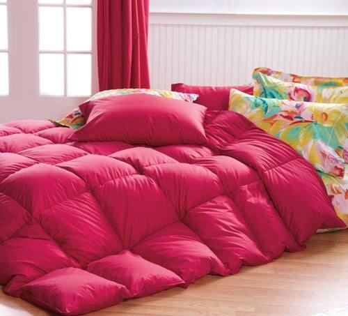 Red Comforter Cuddledowns, Vibrant Bedspreads and Comforters - OH MY!