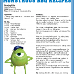 Looking For Any BBQ Fourth of July Recipes? #MonstersU