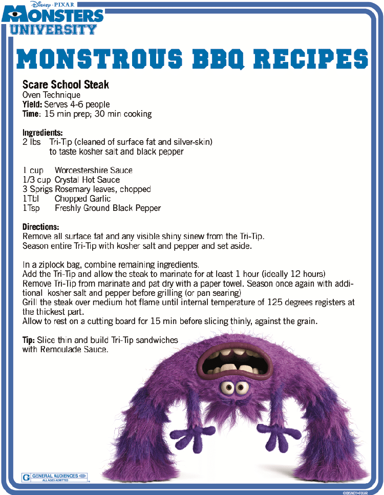 Fourth of July BBQ Recipes From #MonstersU