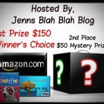 Enter To #Win The $150 Winners Choice & $50 Mystery Prize #Giveaway (sponsored)