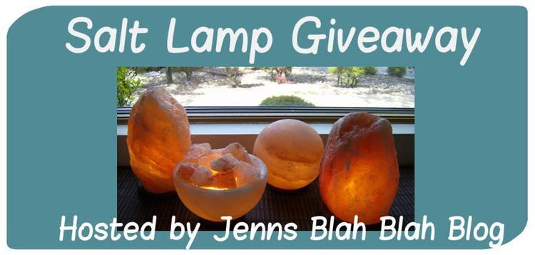 Himalayan Salt Lamp Giveaway - Ends 7/24 (US) - Mama s Mission