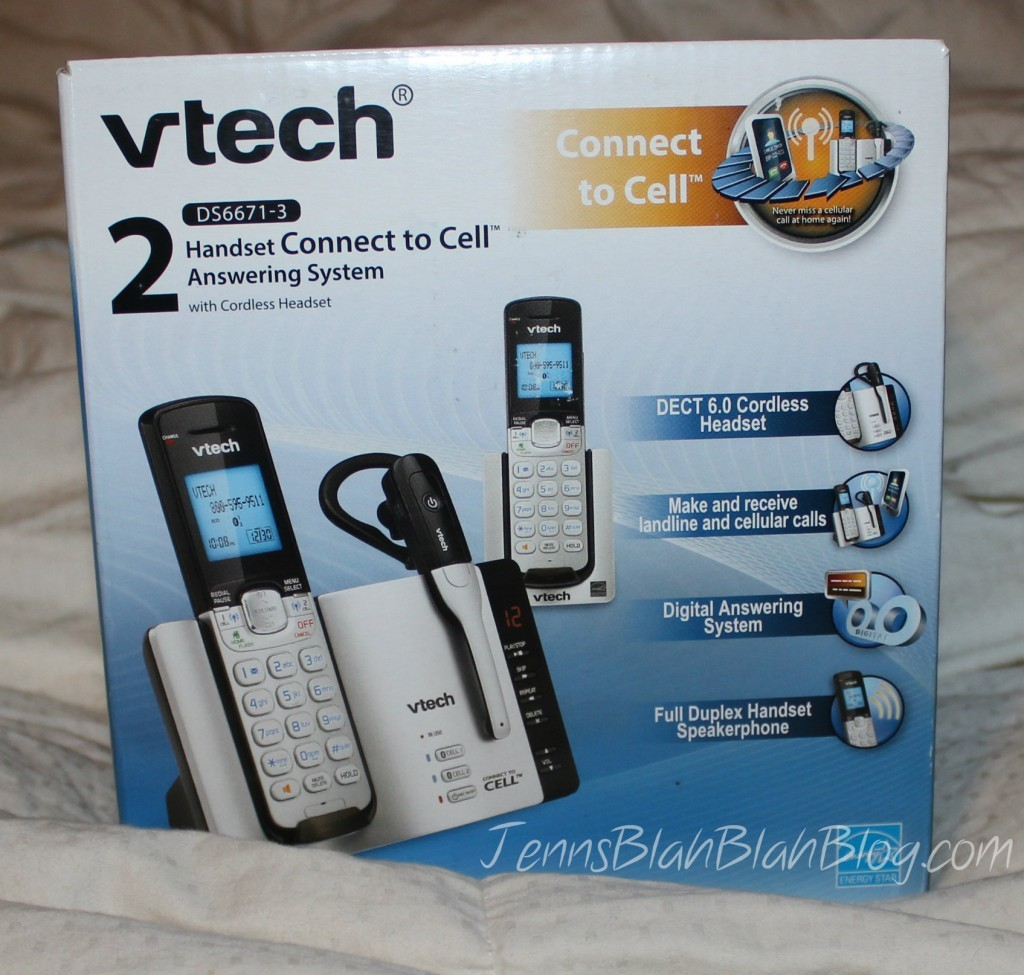 VTech Connect to Cell Phone in box