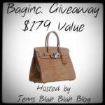 Enter to #Win The Baginc Handbag #Giveaway $179 Value