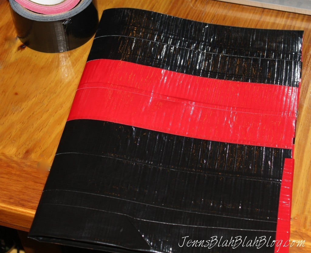 How To Make a Duck Tape Folder