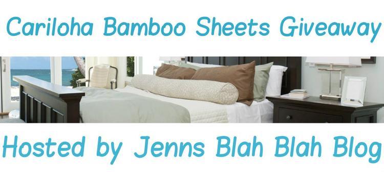 Cariloha Bamboo Sheets Giveaway