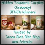 Enter To #Win The Hidden Treasure Candle #Giveaway (7 winners)