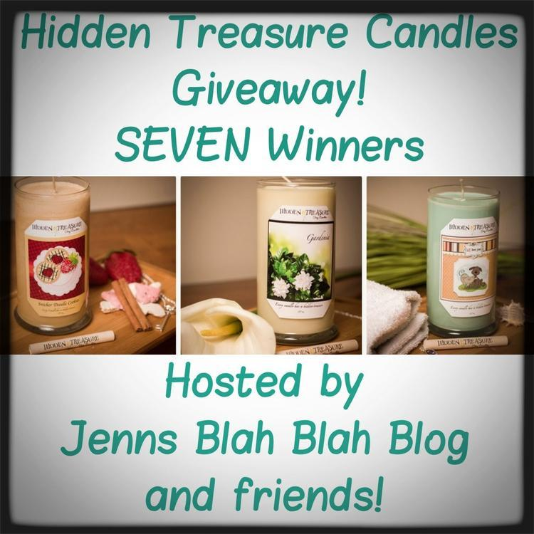 Hidden Treasure Candle Giveawa7y