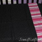 Kids Black and White Sheets