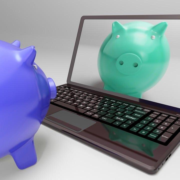 Kozzi piggy on screen shows digital web piggybank 721 X 721 Top Four Coupon Websites