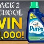Purex Back To School $1000 Sweepstakes