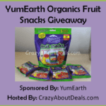 YumEarth Organics Fruit Snacks Giveaway