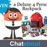 Ready America Grab 'N Go Deluxe 4 Person Backpack #Giveaway