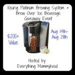 Keurig K75 Platinum Brewing System #Giveaway