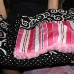 pink baby comforter