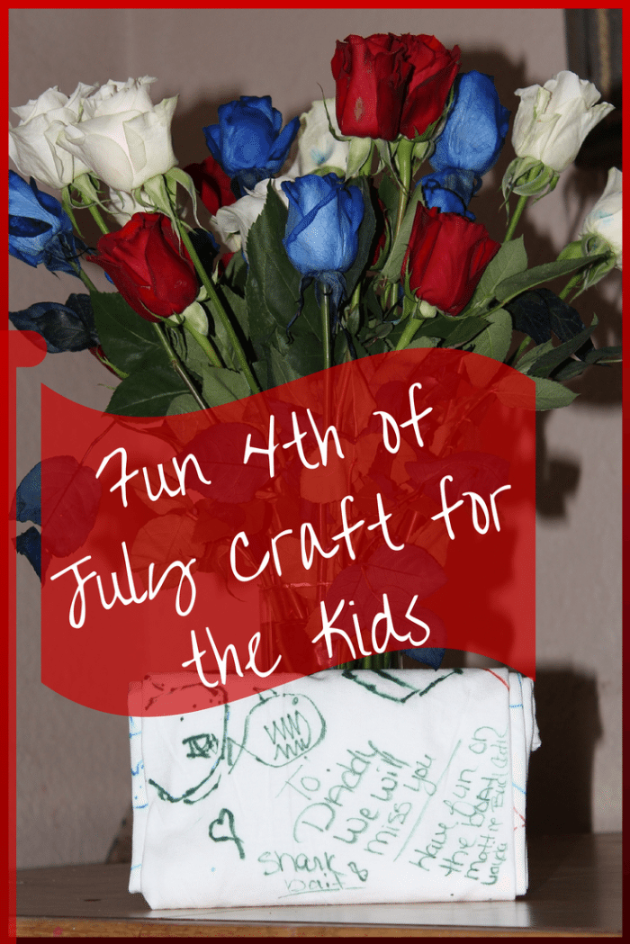 4th of July Craft for the Kids & Meaningful 4th of July Gift Ideas #jbbb http://jennsblahblahblog.com