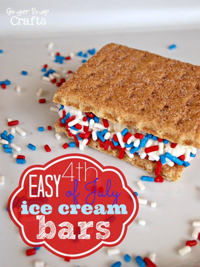 4th of July Ice Cream Bars http://jennsblahblahblog.com #jbbb