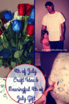 4th of july red white and blue crafts flowers and gifts 100x150 Easy, Affordable Minion Valentine's Day Box Craft With Kids