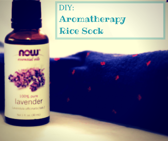 DIY: Aromatherapy Rice Sock Pillow http://jennsblahblahblog.com