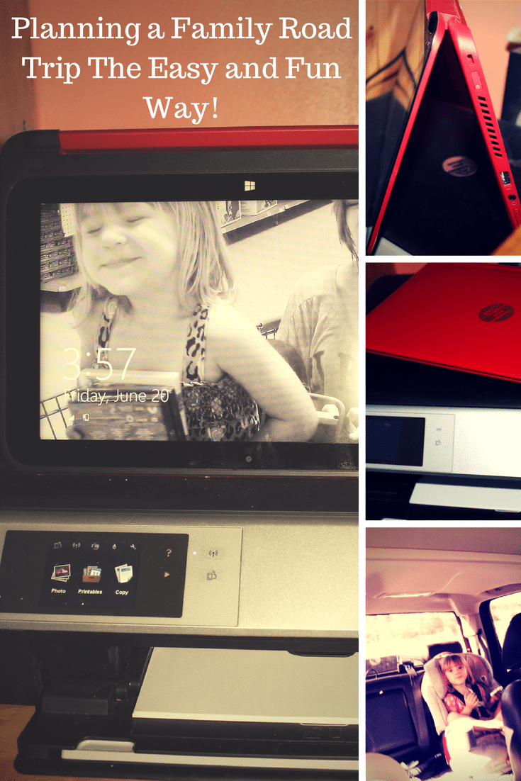 Planning A Family Road Trip with HP Pavilion x360 TouchSmart