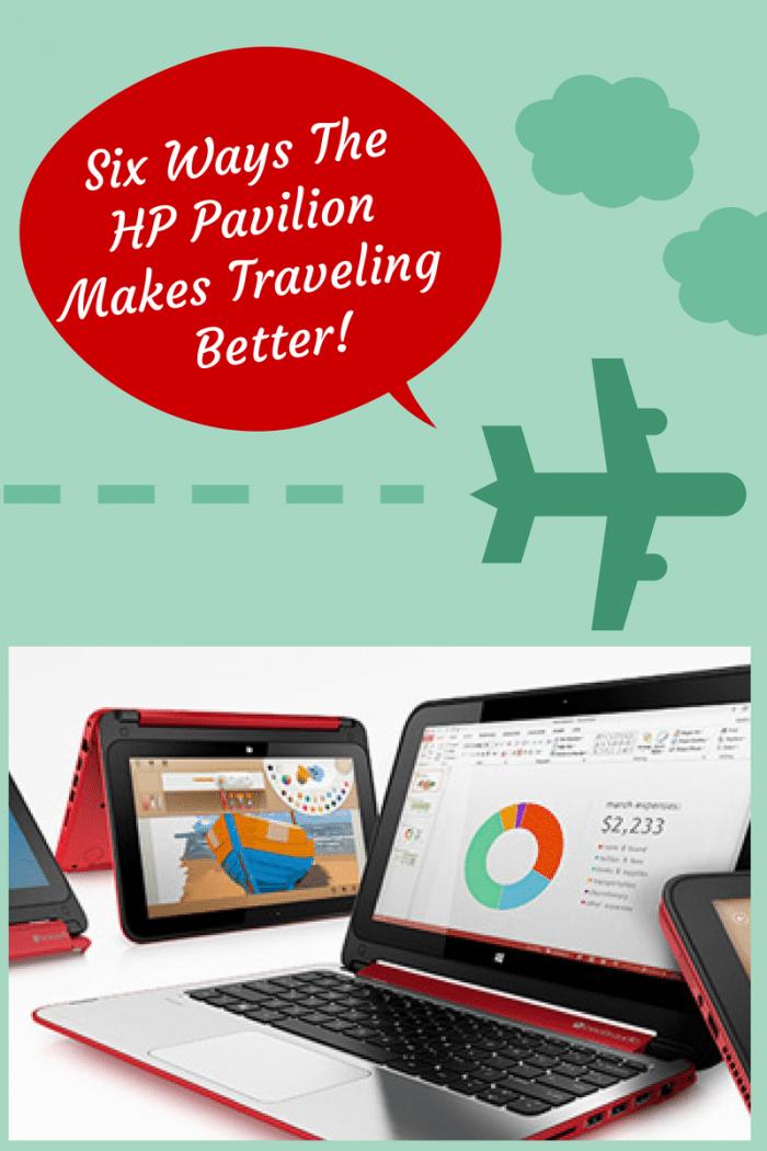 Six Ways The HP Pavilion Makes Traveling Better! #jbbb http://jennsblahblahblog.com