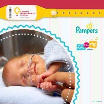 Support Pampers & The Children's Miracle Network Hospitals Baby